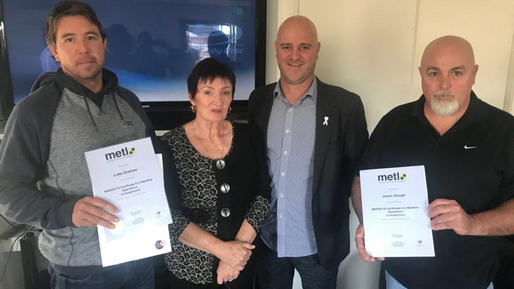 Congratulations to 12 Newcastle-based Svitzer Australia linespersons