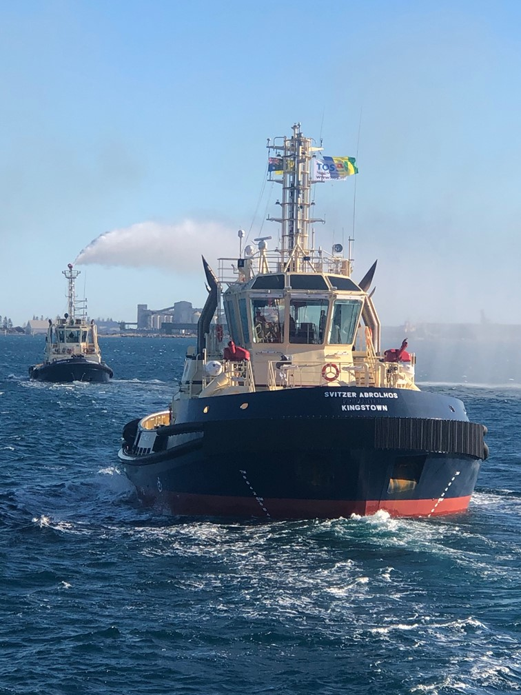 Svitzer Abrolhos Arrival to Geraldton