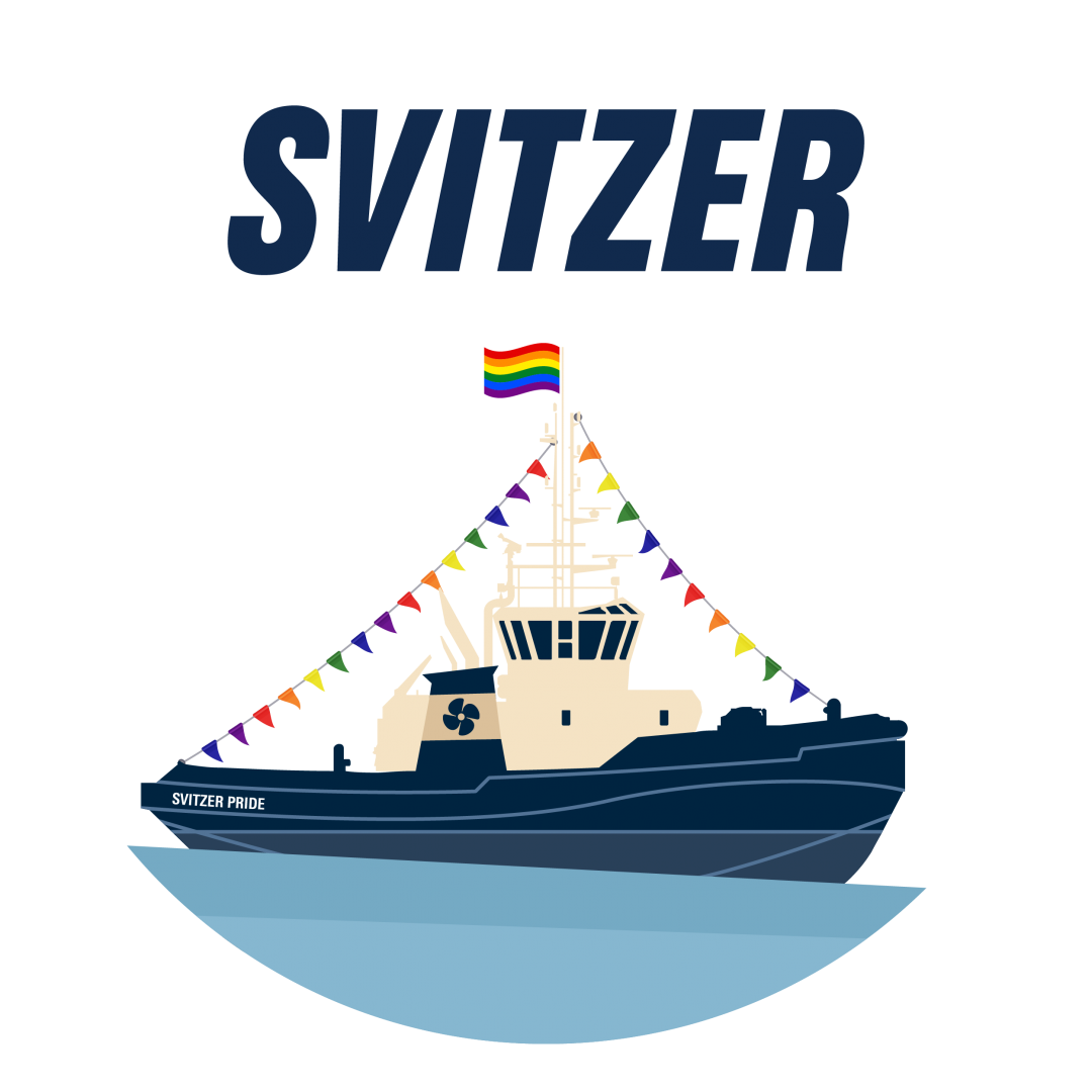 Svitzer Pride T-Shirt Graphic