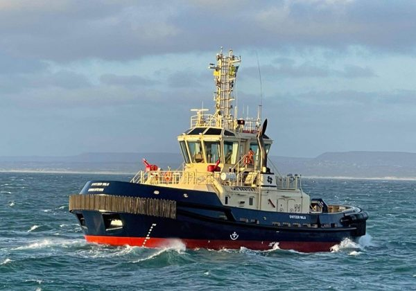 Third and final new tug, Svitzer Wilu, welcomed to Geraldton