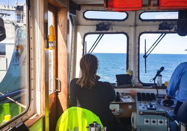 Svitzer Marine Engineer's skills match needs for Kangaroo Island bushfire response