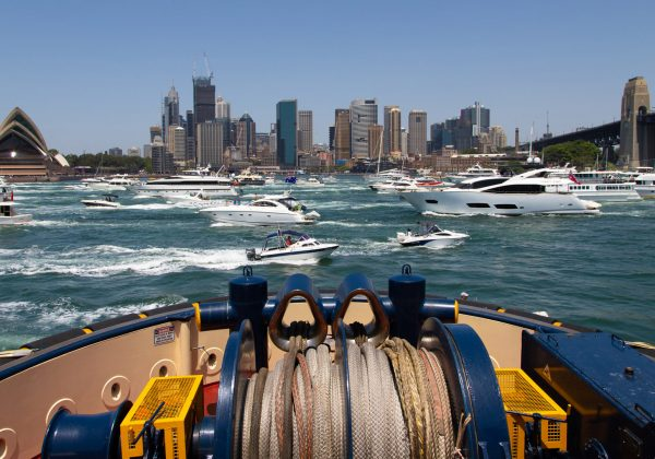A Sydney Harbour Day