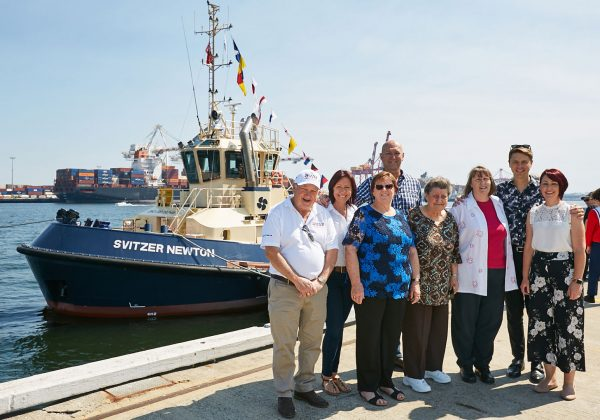 Tug Boat Svitzer Newton Named in Public Ceremony