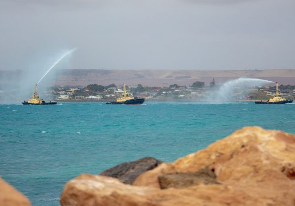 First new tug arrives at Geraldton Port