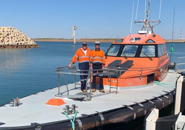 Svitzer Seara Crew to the Rescue off Onslow, WA